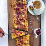 Mazurek z kremem pomarańczowym – przepis wegański i nie tylko