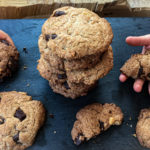 Ciastka czekoladowe – szybko i bez cukru